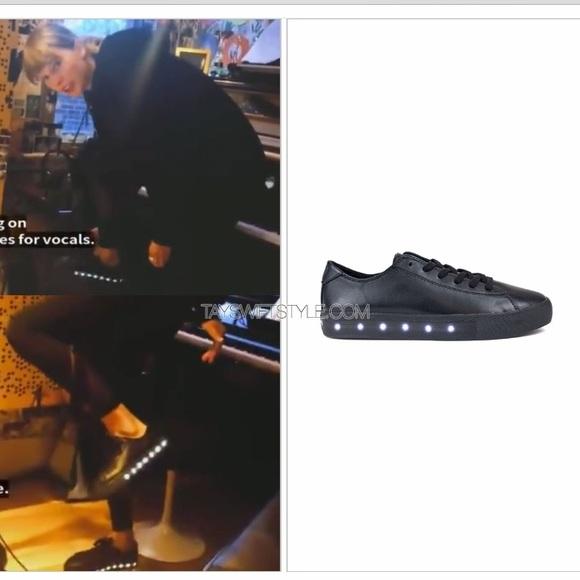 pop Shoes | Genuine Leather Pop Lightup